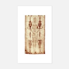Shroud of Turin Sticker (Rectangle)