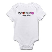YOU EAT WHAT? Infant Bodysuit