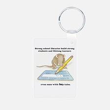IQ Mouse Aluminum Photo Keychain