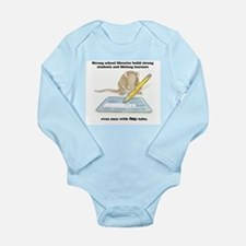 IQ Mouse Long Sleeve Infant Bodysuit