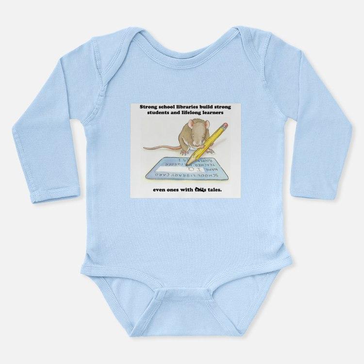 IQ Mouse Long Sleeve Infant Bodysuit