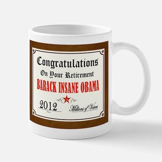 FINALLY GONE Mug