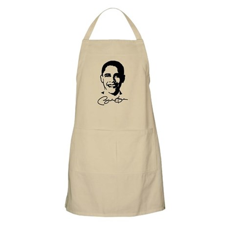 Obama's Face: Apron