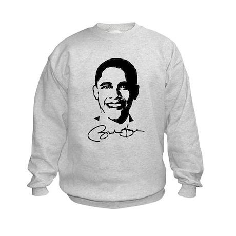 Obama's Face: Kids Sweatshirt