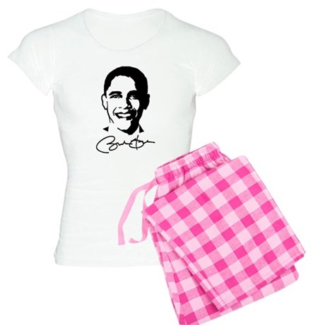 Obama's Face: Women's Light Pajamas