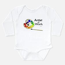 You Gotta Have ART Long Sleeve Infant Bodysuit