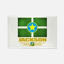Jackson Pride Rectangle Magnet