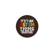 Autism Thing Mini Button