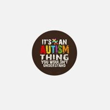 Autism Thing Mini Button