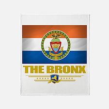 Bronx Pride Throw Blanket