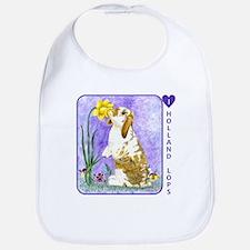 Holland Lop Rabbit Bib