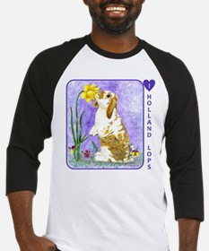 Holland Lop Rabbit Baseball Jersey