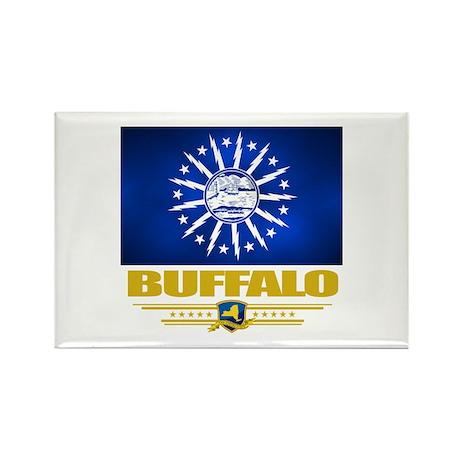 Buffalo Pride Rectangle Magnet