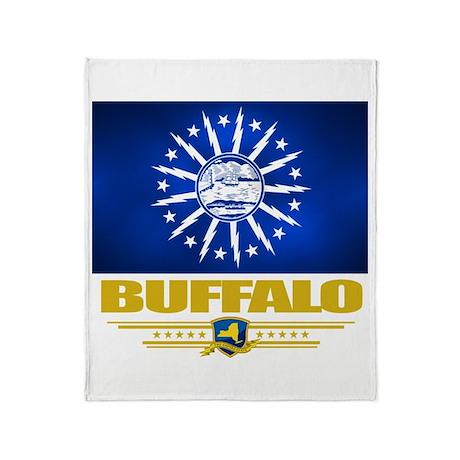 Buffalo Pride Throw Blanket