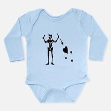 BLACKBEARD Long Sleeve Infant Bodysuit