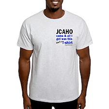 JCAHO Came Ash Grey T-Shirt