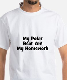 My Polar Bear Ate My Homework Shirt