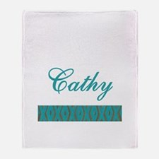 Cathy - Throw Blanket