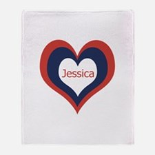 Jessica - Throw Blanket