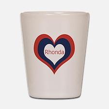 Rhonda - Shot Glass