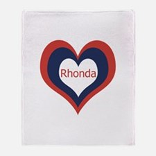 Rhonda - Throw Blanket