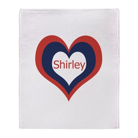 Shirley - Throw Blanket