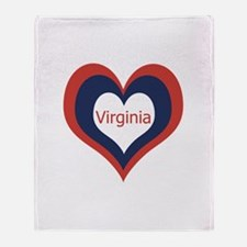 Virginia - Throw Blanket
