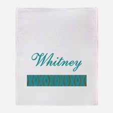 Whitney - Throw Blanket