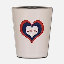 Whitney - Shot Glass