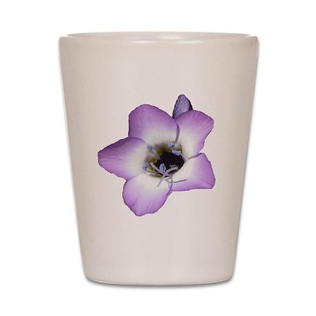 Purple Flower - Shot Glass