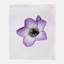 Purple Flower - Throw Blanket