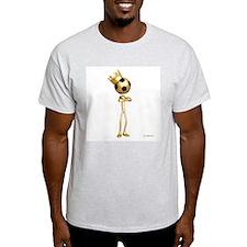 Soccer King Ash Grey T-Shirt