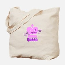 Bowling Queen Tote Bag