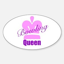 Bowling Queen Decal