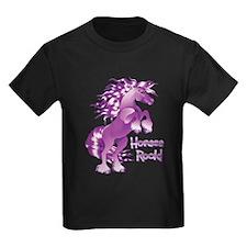 Purple Horses Rock T