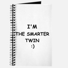 I'M THE SMARTER TWIN Journal