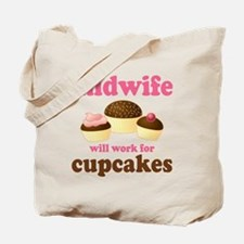 Funny Midwife Tote Bag