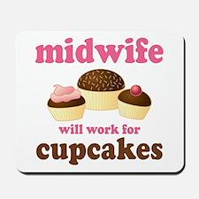 Funny Midwife Mousepad