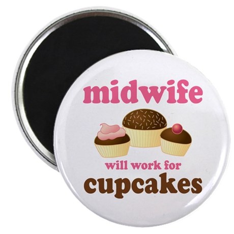 Funny Midwife Magnet