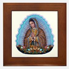 Lady of Guadalupe T5 Framed Tile