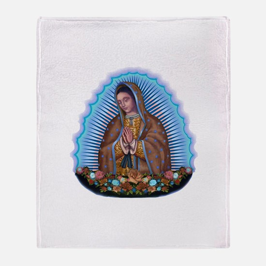 Lady of Guadalupe T5 Throw Blanket