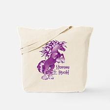 Purple Horses Rock Tote Bag