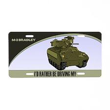 M-2 Bradley License Plate