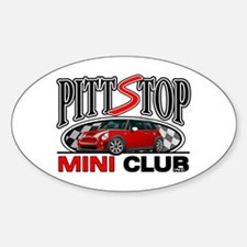 PittStop MINI Oval Decal