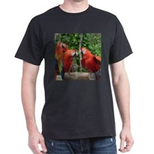 Scarlet Macaws T-Shirt