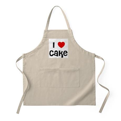 I * Cake BBQ Apron