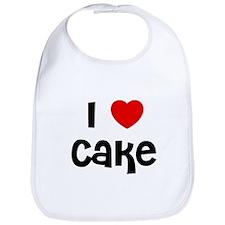 I * Cake Bib