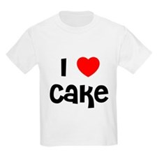 I * Cake Kids T-Shirt
