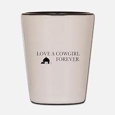 Cowgirl Love Shot Glass