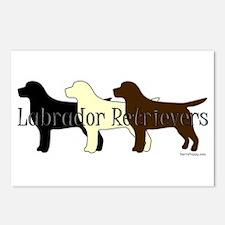 Labrador Retrievers Postcards (Package of 8)